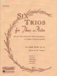 6 Trios for Three Flutes (or Violins), Op. 83 - Third Flute Part