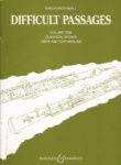 Difficult Passages, Vol. 1 - Oboe and English Horn