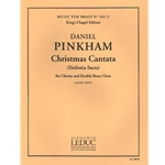Christmas Cantata - SATB Chorus and Double Brass Choir (Full Score and Brass Parts)