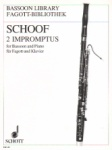 2 Impromptus - Basson and Piano