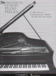 36 Twentieth-Century Pieces - Piano