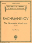 6 Moments Musicaux, Op. 16 - Piano
