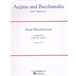 Aegina and Bacchanalia (Score and Parts) - Concert Band