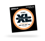 D'Addario ECB82 Chromes Long Scale Electric Bass Strings