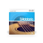 D'Addario EJ16 Acoustic Guitar Strings Phosphor Light
