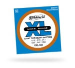 D'Addario EXL140 Nickel Wound Light Top/Heavy Bottom Strings