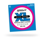 D'Addario EXL150 12-String Nickel Wound Regular Light Strings