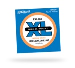 D'Addario EXL160 Nickel Wound Long Scale Electric Bass Strings