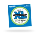 D'Addario EXL165-6 6-String Nickel Wound Long Scale Bass Strings