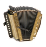 Hohner 114D One-Row German Style Key of D Accordion