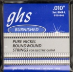 GHS BNR-L Burnished Nickel Light Electric Guitar Strings