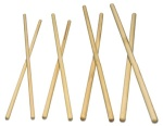 "LP248D Hickory Timbale Sticks, 1/2"" X 16 5/8"", 4 Pair"