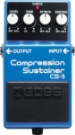 BOSS CS-3 Compression Sustainer Guitar Pedal