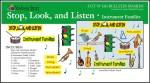Cut 'n' Go - Stop, Look, and Listen B Board Set