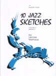 10 Jazz Sketches, Vol. 2 Grade 3 - Trumpet Trio