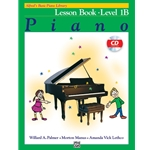 Alfred's Basic Piano Course: Lesson, Book 1B (Bk/CD)