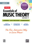 Alfred's Essentials of Music Theory Ver. 3 - Complete Educator CD-ROM