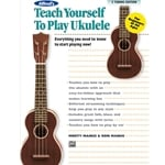 Alfred's Teach Yourself to Play Ukulele - Book/CD/DVD