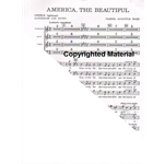 America, the Beautiful - SATB Choral Octavo