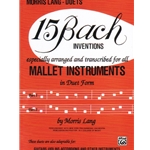 15 Bach Inventions - Mallet Duet