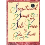 Sensational Songs for Solo Voice, Volume 2 (Bk/CD) - Medium Low Voice and Piano