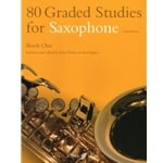 80 Graded Studies for Saxophone (Alto or Tenor), Book One