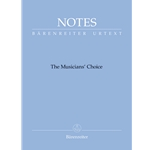 Notes: Musicians' Choice (Soft Blue) - Mini Manuscript Notebook