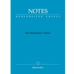 Notes: Musicians' Choice (Bach Blue) - Mini Manuscript Notebook