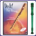 Green Cantos Recorder & Do It Recorder Book/CD