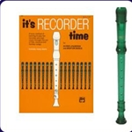 Green Cantos Recorder & It's Recorder Time Book