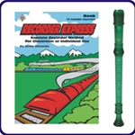 Green Cantos Recorder & Recorder Express Book