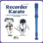 Blue Cantos Recorder & Recorder Karate Book