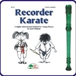 Green Cantos Recorder & Recorder Karate Book