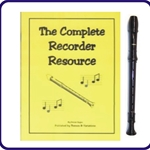 Brown Tudor Recorder & Complete Recorder Resource Book