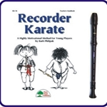 Brown Tudor Recorder & Recorder Karate Book