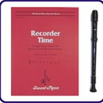 Brown Tudor Recorder & Recorder Time Book