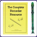 Green Candy Apple Recorder & Complete Recorder Resource Book