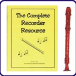 Red Candy Apple Recorder & Complete Recorder Resource Book