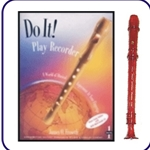 Red Candy Apple Recorder & Do It Recorder Book/CD
