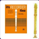 Gold Candy Apple Recorder & It's Recorder Time Book