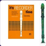 Green Candy Apple Recorder & It's Recorder Time Book