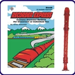 Red Candy Apple Recorder & Recorder Express Book