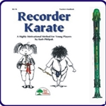 Green Candy Apple Recorder & Recorder Karate Book