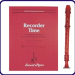 Red Candy Apple Recorder & Recorder Time Book
