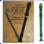 Green Candy Apple Recorder & Trophy Recorder Book