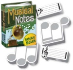 Musical Notes Sticky Notes