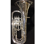 "Besson Bb Euphonium - Silver Finish - 3+1 - 11"" Bell"