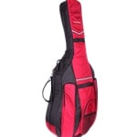 Tonareli Bass Bag (Case) Black/Burgundy