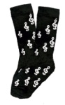 Men's Treble Clef Socks