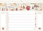 Music Weekly Planner